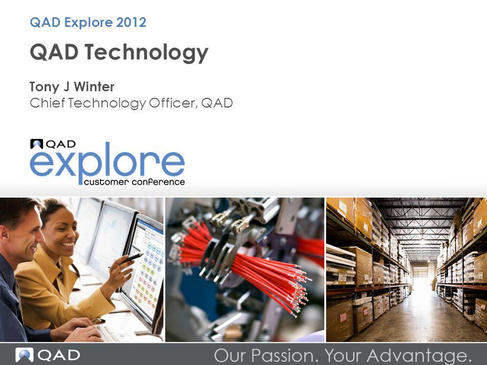 Usability QAD Technology 12