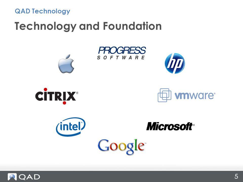 Technology Focus QAD Technology ProcessSystem People 6