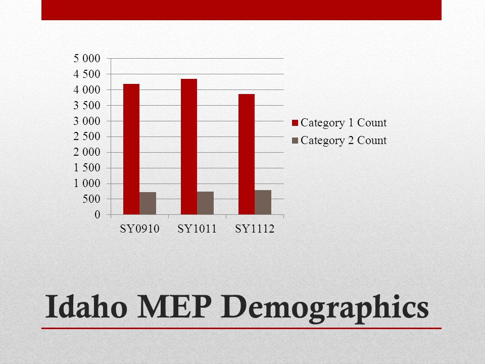 Idaho MEP Demographics