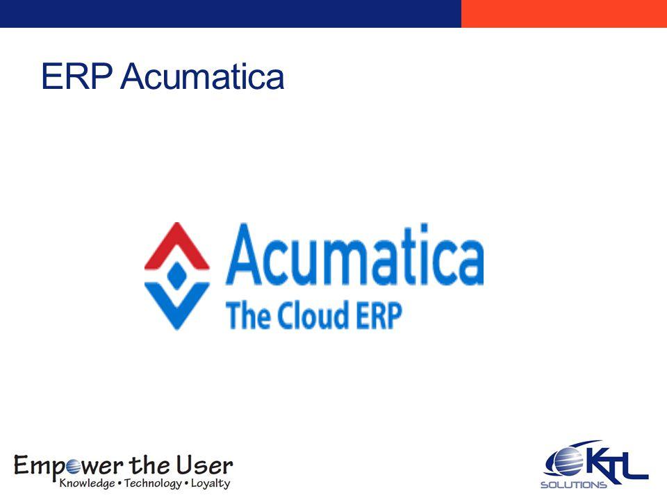 ERP Acumatica