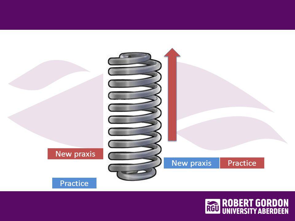 Practice New praxis Practice New praxis