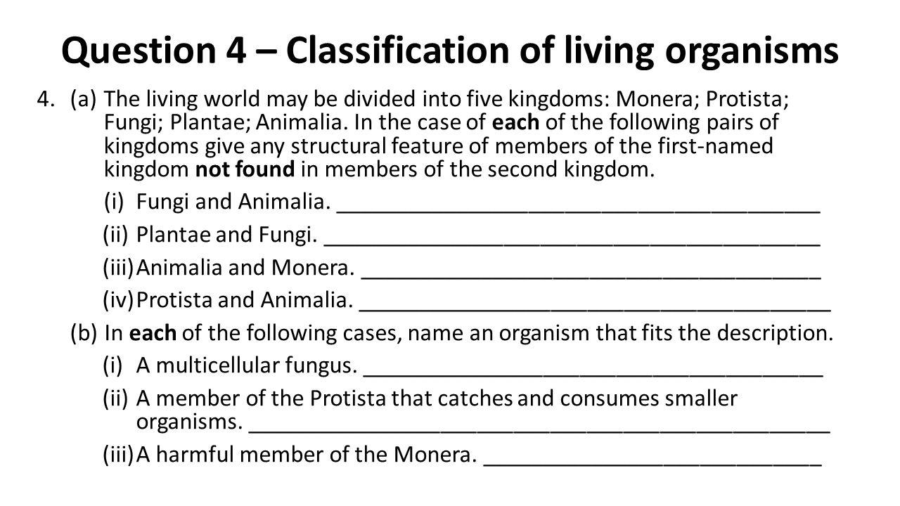 Q14 (a) – Marking Scheme (a)(i)Anther [accept stamen] or pollen sac3 *Stigma3 (ii)Wind / animal (or example e.g.