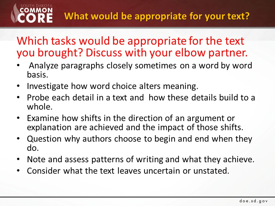 What would be appropriate for your text. What would be appropriate for your text.