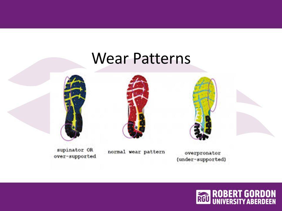 Wear Patterns