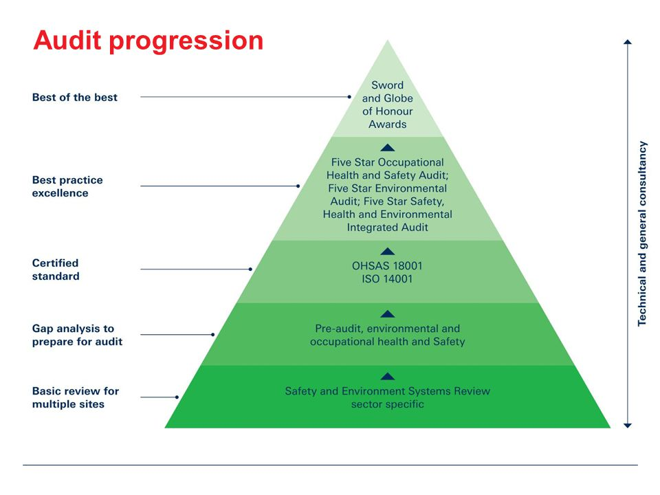 Audit progression
