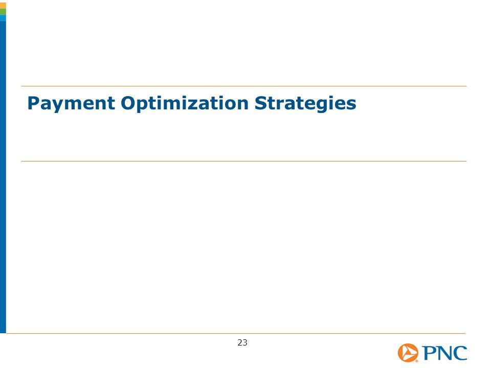 Payment Optimization Strategies 23