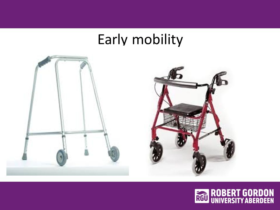 Early mobility