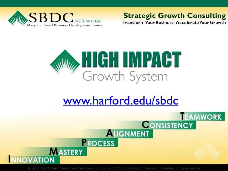Maryland Small Business Development Center Network.