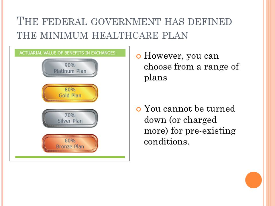 Y OU HAVE A CHOICE OF O PTIONS All plans must cover at least the Essential Benefits.