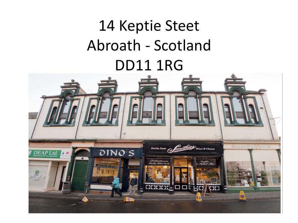 14 Keptie Steet Abroath - Scotland DD11 1RG