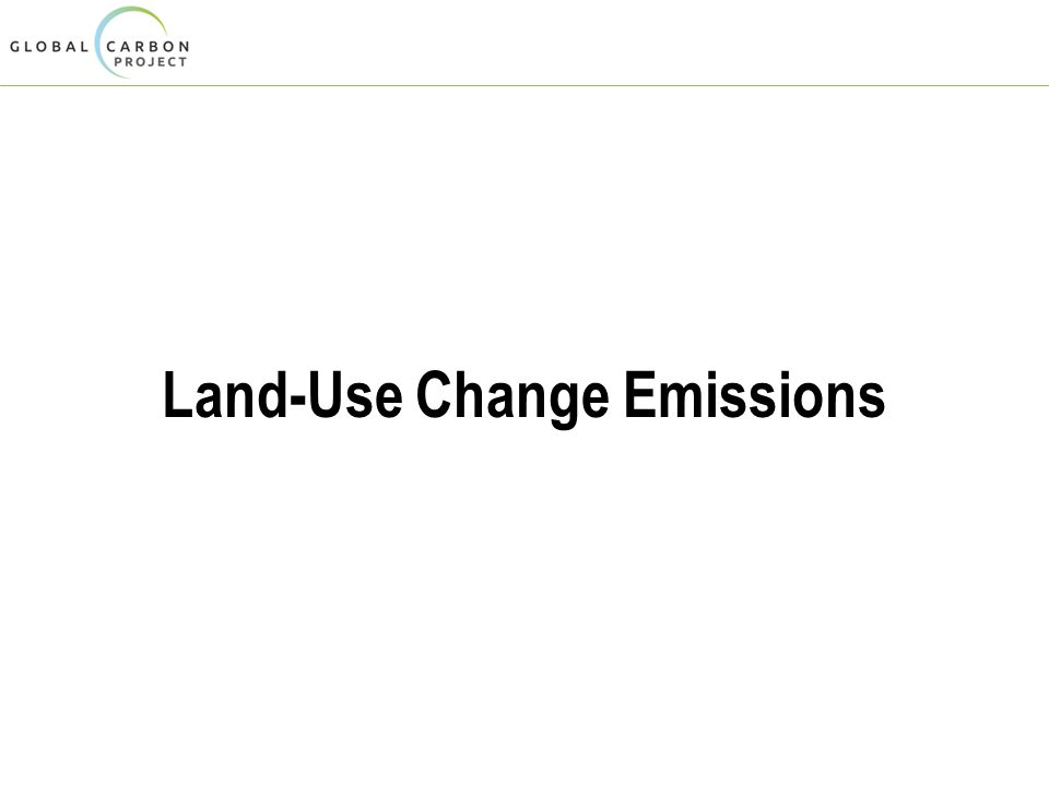 Land-Use Change Emissions