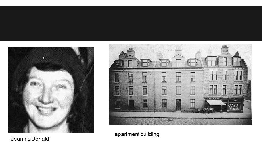 Jeannie Donald apartment building