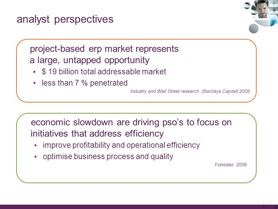 analyst perspectives 6.3 economic slowdown are driving pso's to focus on initiatives that address efficiency improve profitability and operational eff