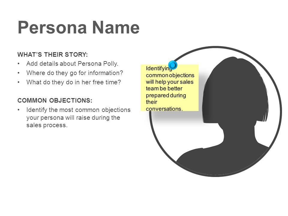 Persona Name WHAT'S THEIR STORY: Add details about Persona Polly.