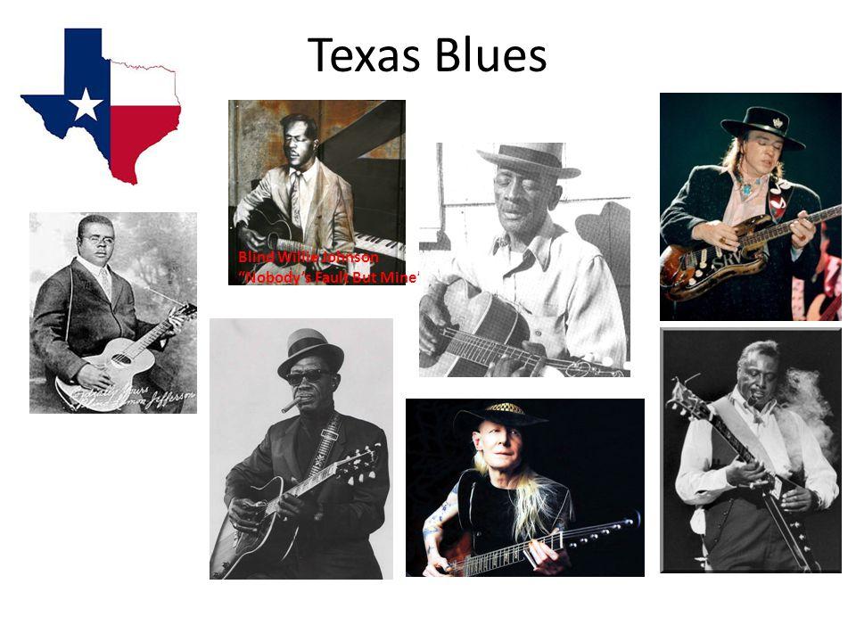 Texas Blues Blind Willie Johnson Nobody's Fault But Mine