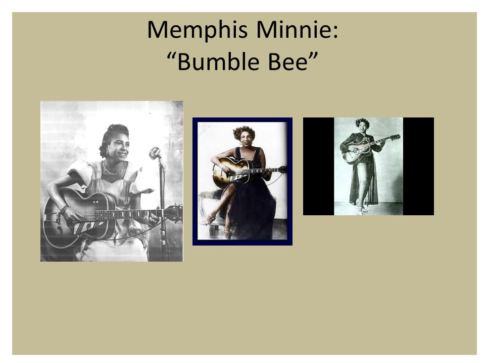 Memphis Minnie: Bumble Bee