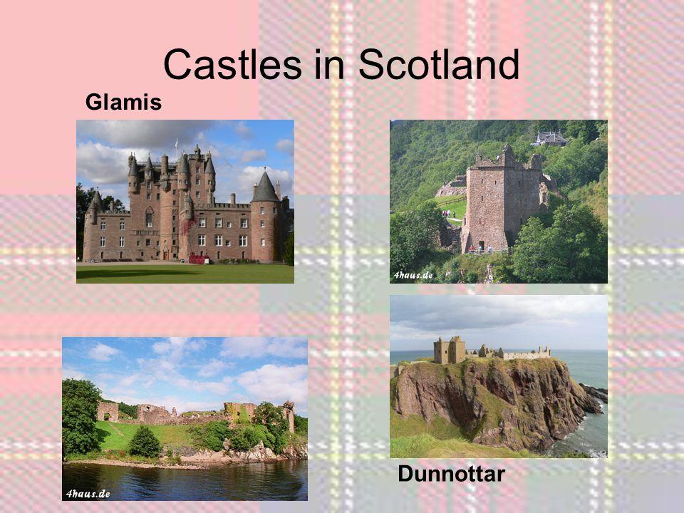 Castles in Scotland Dunnottar Glamis