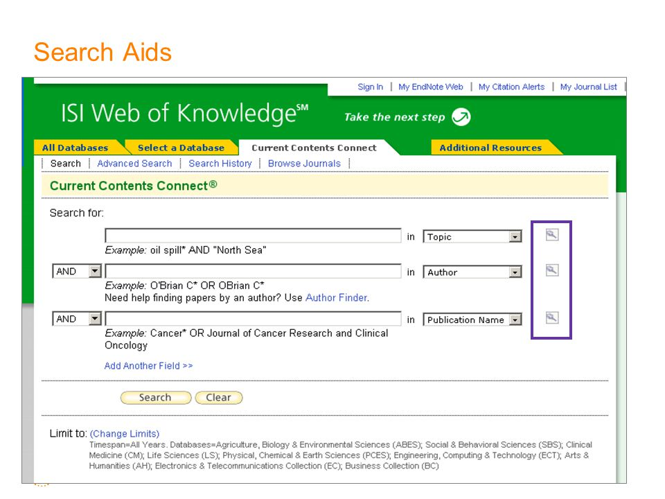 Search Aids