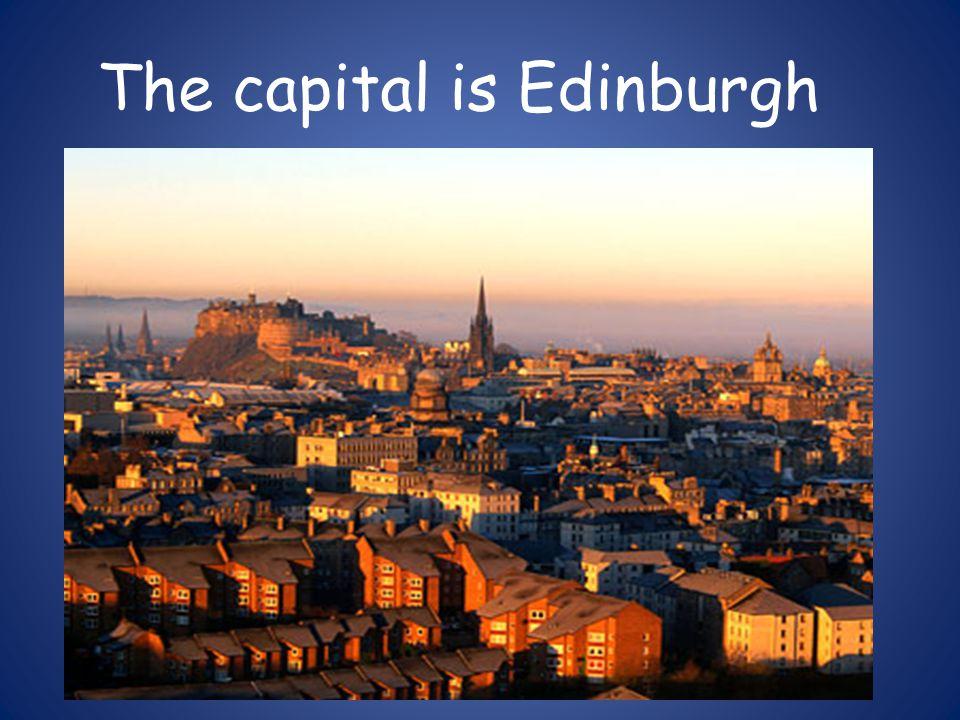 The castle Edinburgh