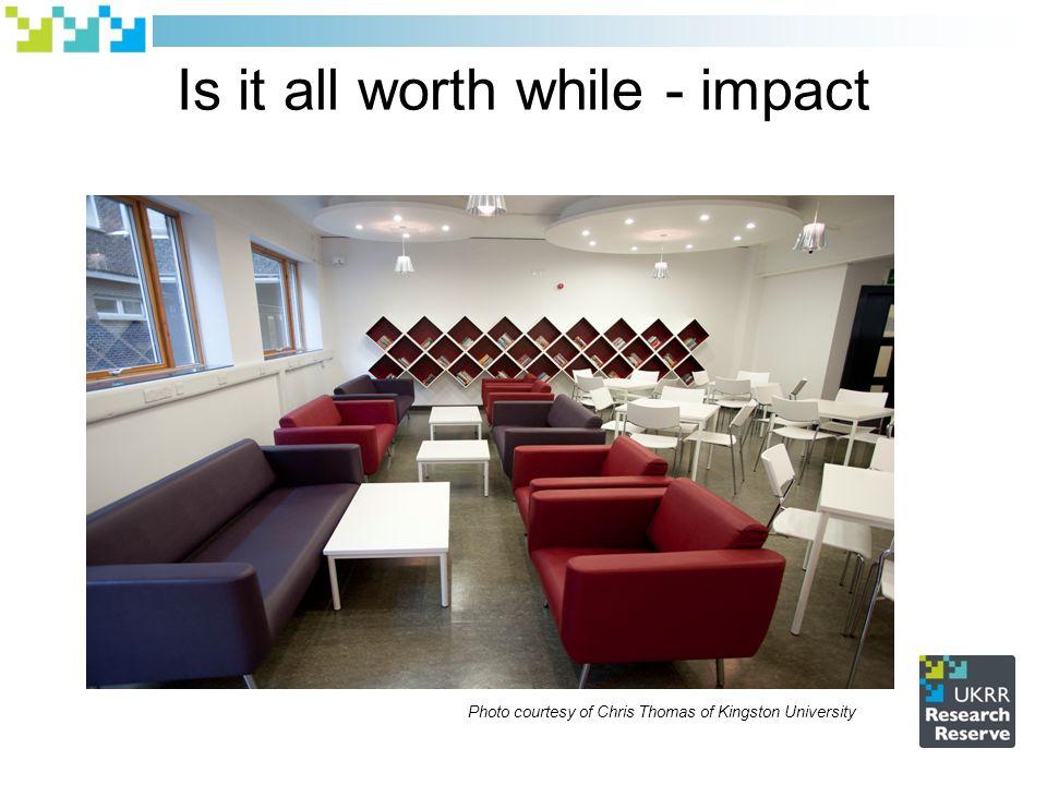 Is it all worth while - impact Photo courtesy of Chris Thomas of Kingston University