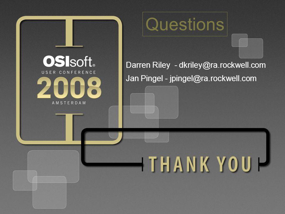 44 © 2008 OSIsoft, Inc.