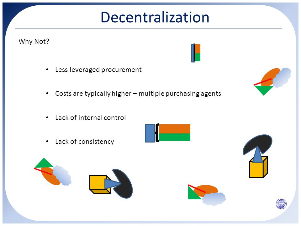 Decentralization Why Not.
