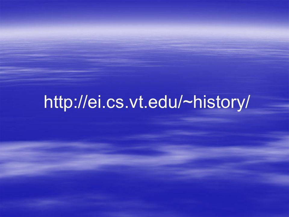 http://ei.cs.vt.edu/~history/