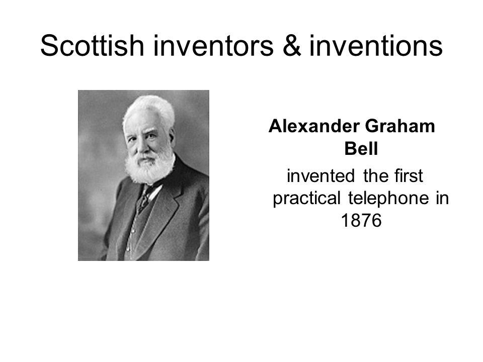 Scottish inventors & inventions James Watt steam engine
