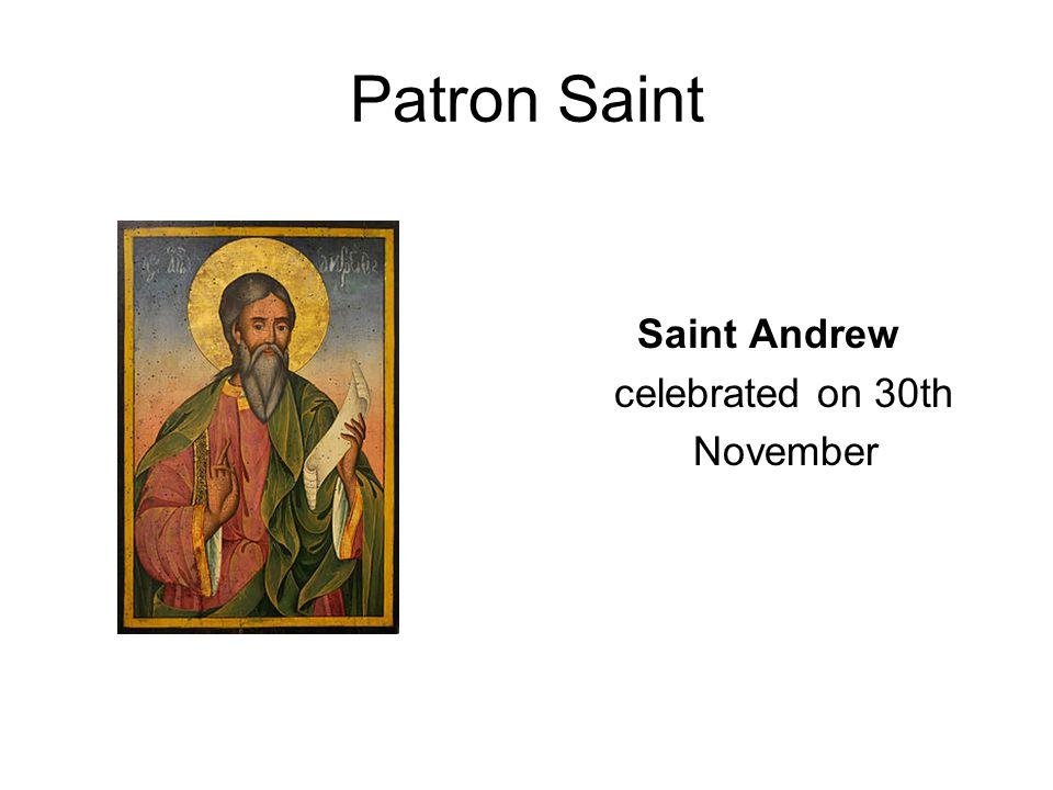 Scottish flag Saint Andrew's Cross
