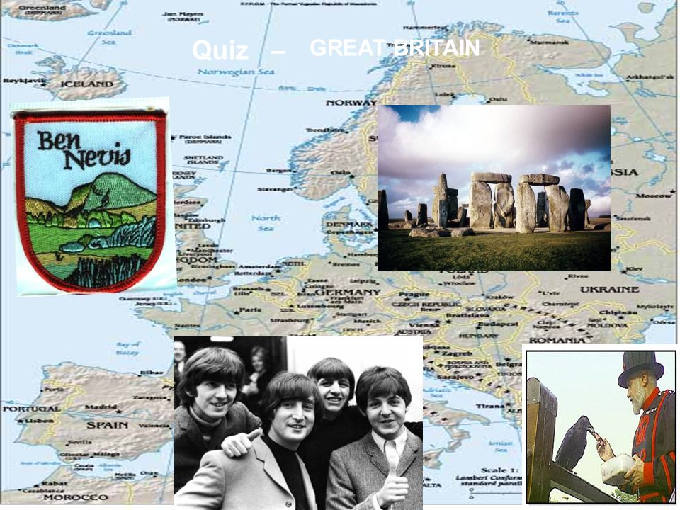 Quiz – GREAT BRITAIN
