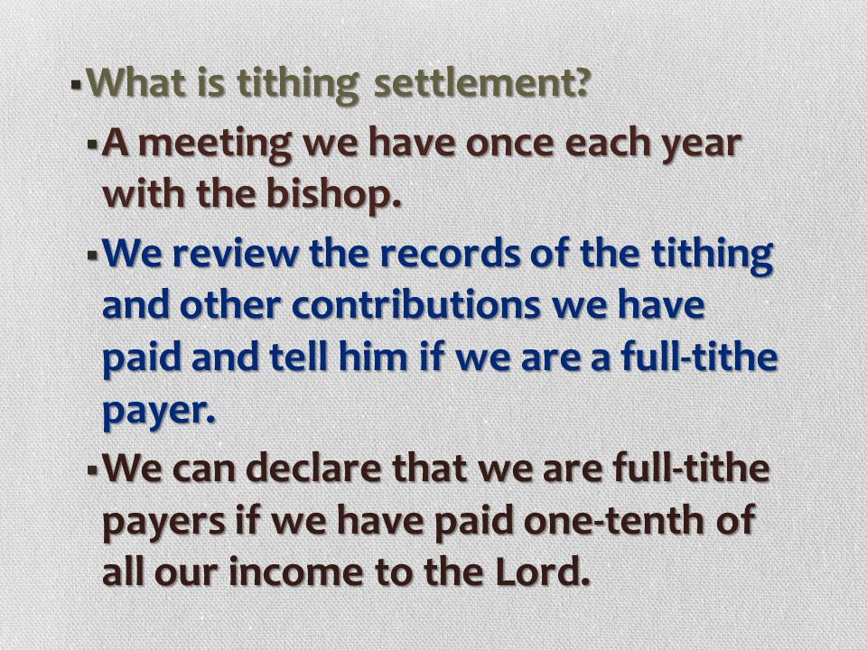  How is our tithing money used?  Some ways are:  Helping publish Church magazines.  Paying for Church satellite broadcasts.  Paying for translati