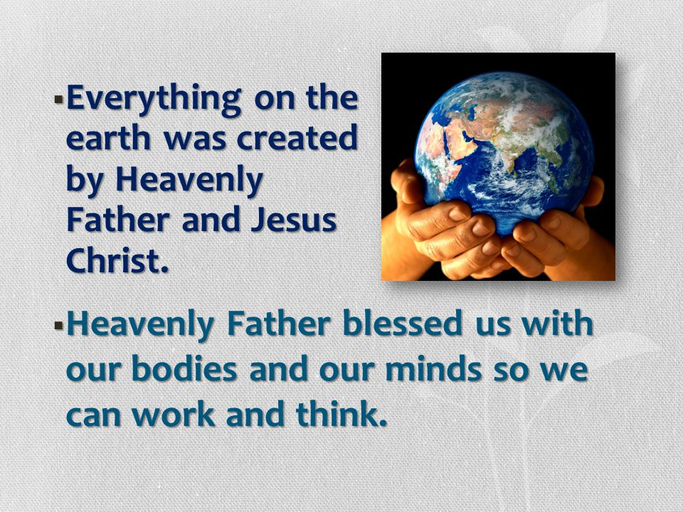  He  He has also asked us to give other donations, such as fast offerings and contributions to the missionary fund, to help further His work here on
