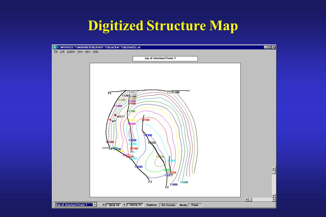 Digitized Structure Map