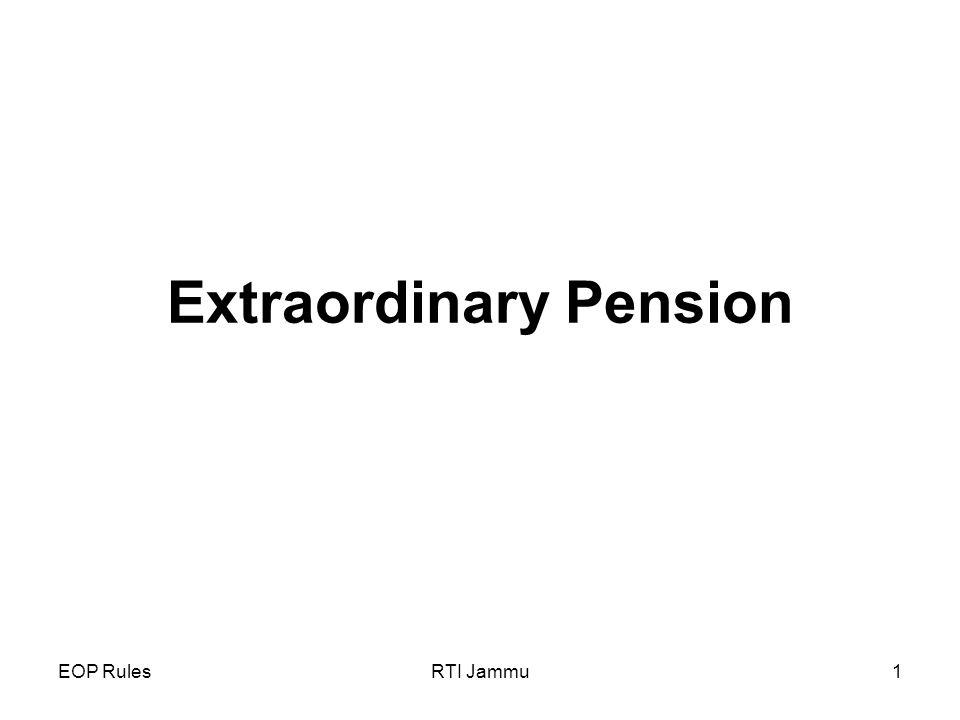 EOP RulesRTI Jammu1 Extraordinary Pension