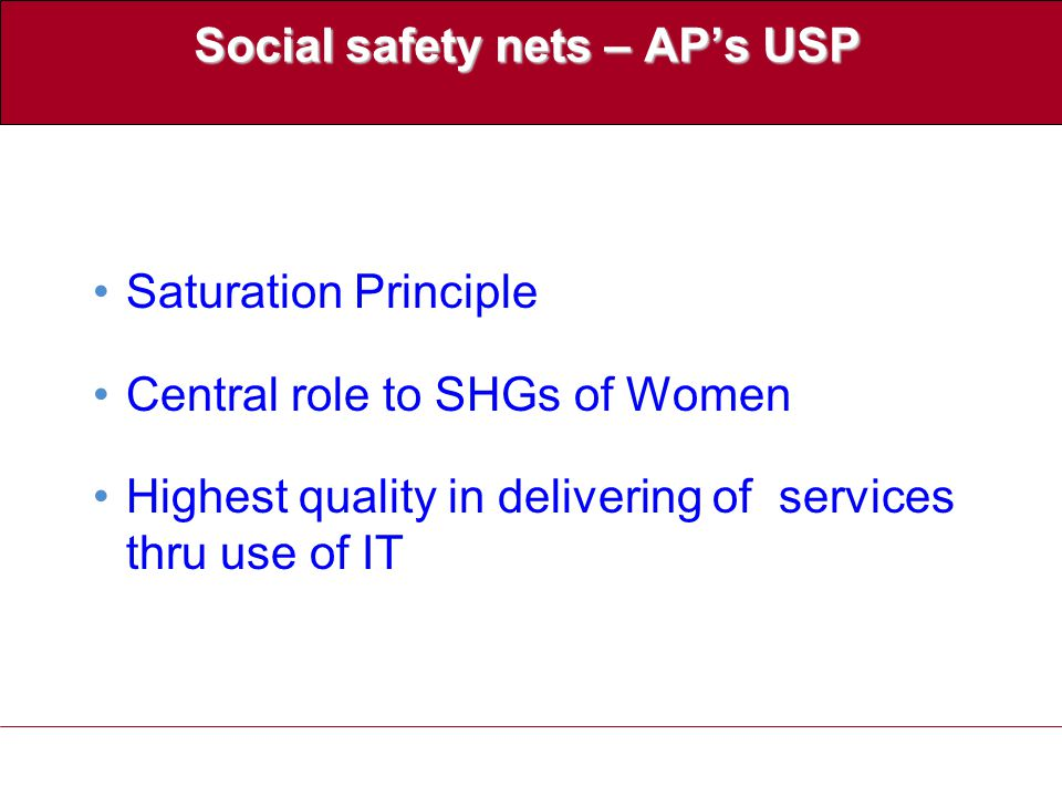 Products /Schemes for the SHG members & their Spouses S.