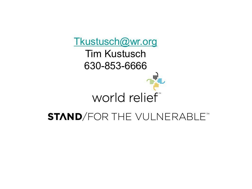Tkustusch@wr.org Tim Kustusch 630-853-6666