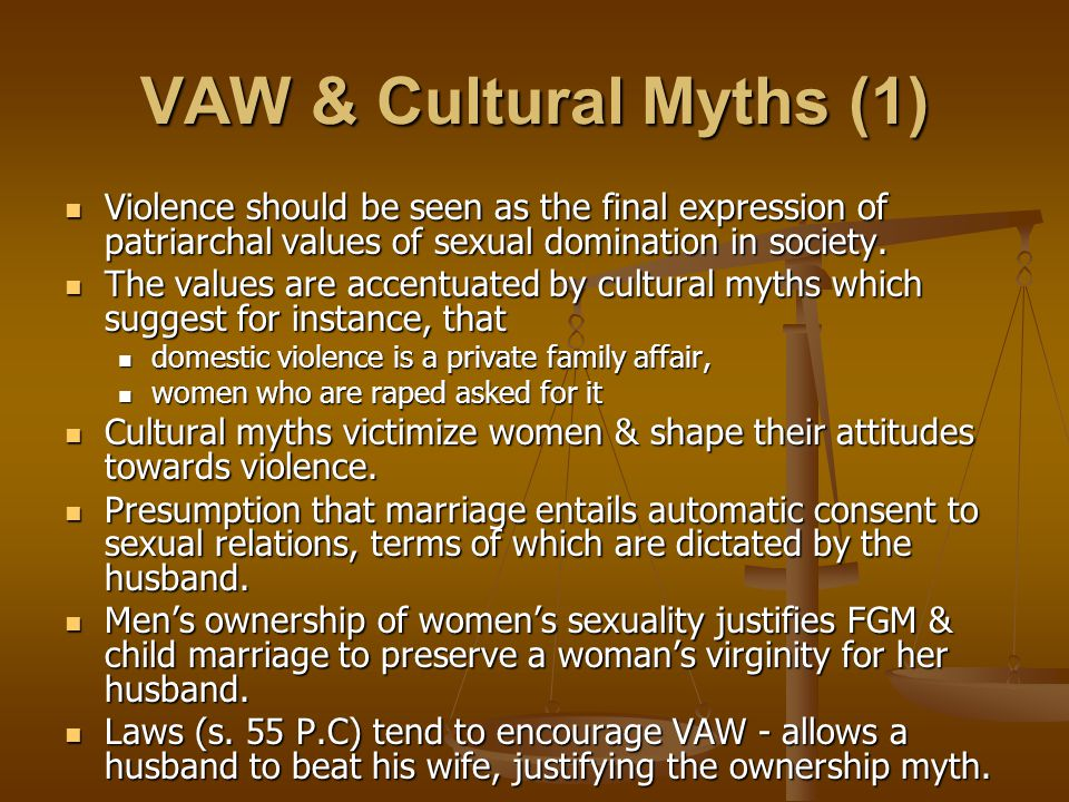 Existing Legal Framework on VAW – State Laws (1) No national law against HTPs before 1999.