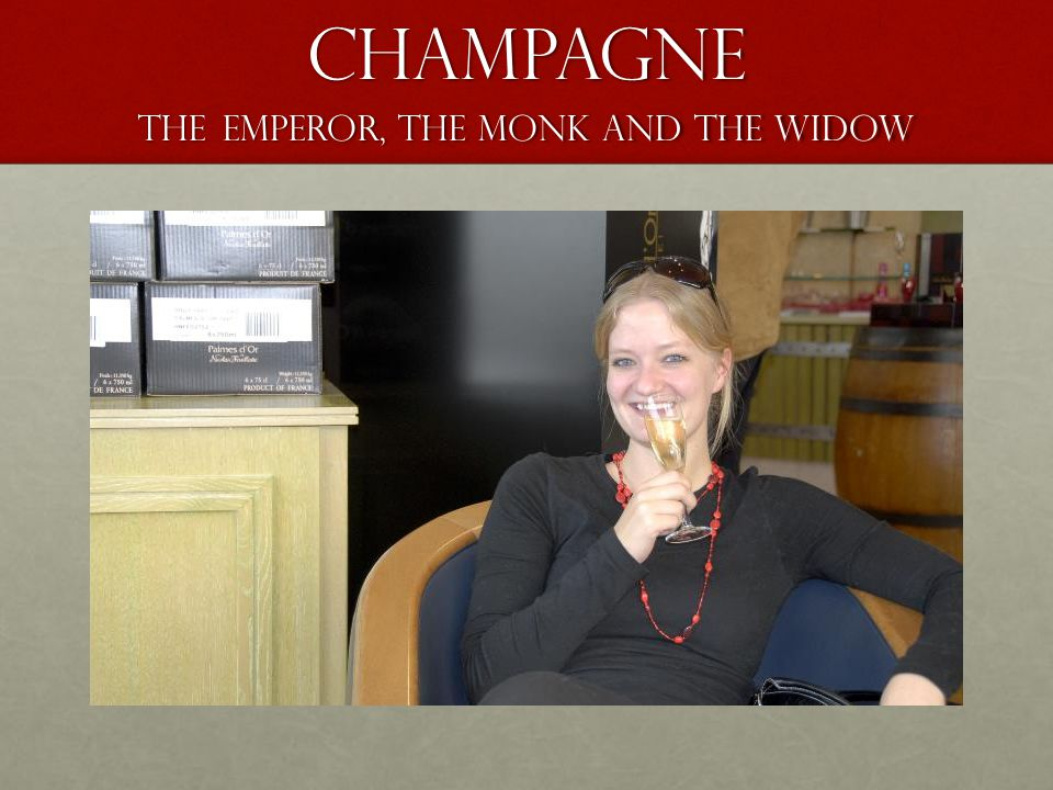 Champagne The Emperor, the monk and The Widow