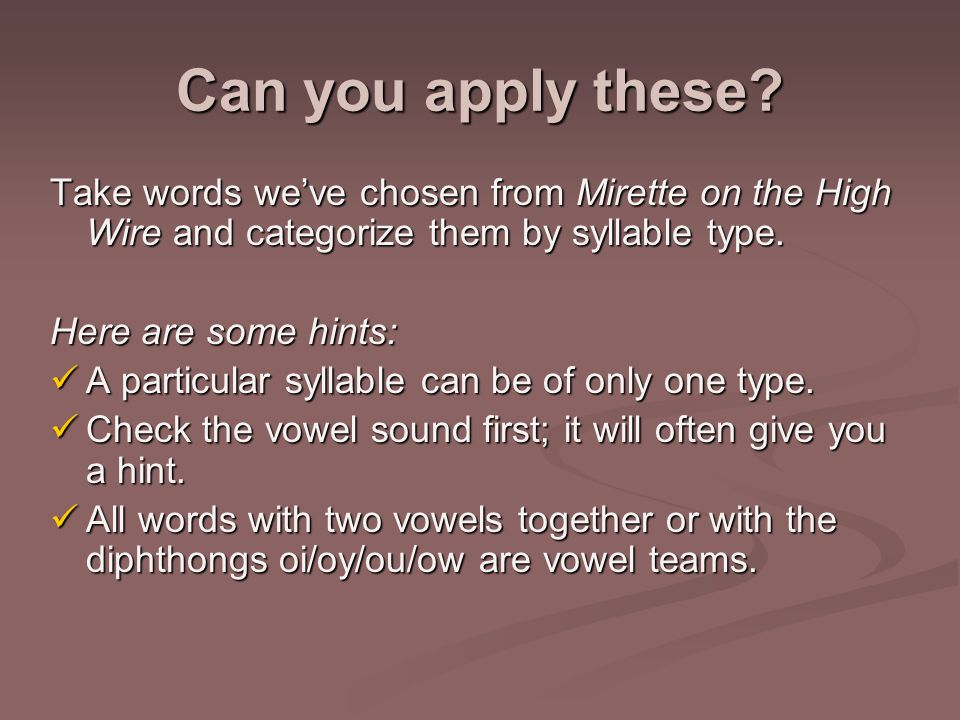 Can you apply these.