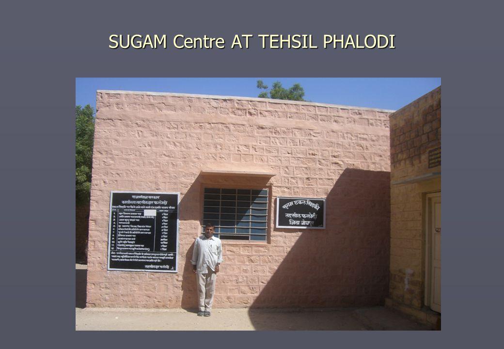 SUGAM Centre AT TEHSIL PHALODI