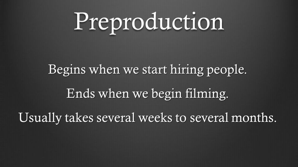 Producer must create an attractive package Producer ' s own track record Option a property Option stars Option a director/writer