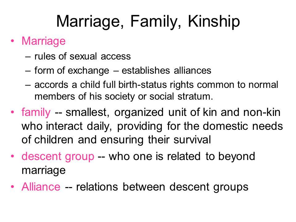 Endogamous Groups & Marriage Partners