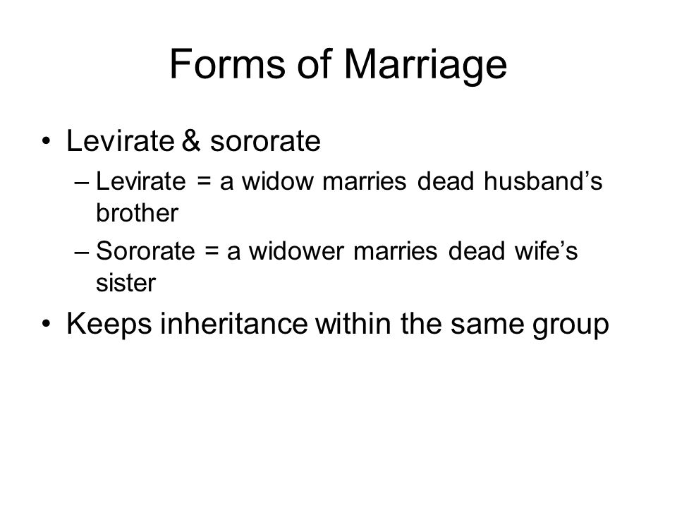 Post-Marital Residence Patterns Patrilocal Matrilocal Bi-local Neolocal Avunculocal – living with mother's brother or father's sister Virilocal – living with husband's relatives (patrilineal descent) Uxorilocal – living with wife's relatives (matrilineal descent)