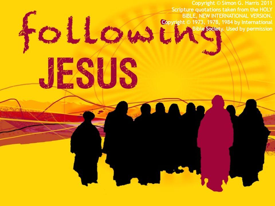 FOLLOWING JESUS to surprising people