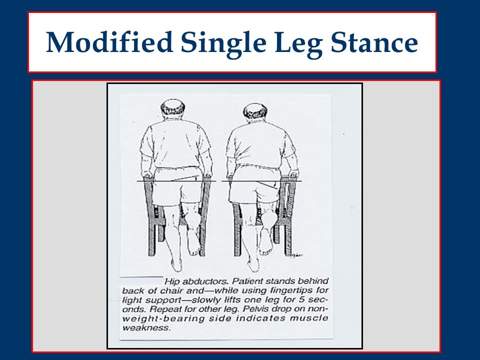 Modified Single Leg Stance