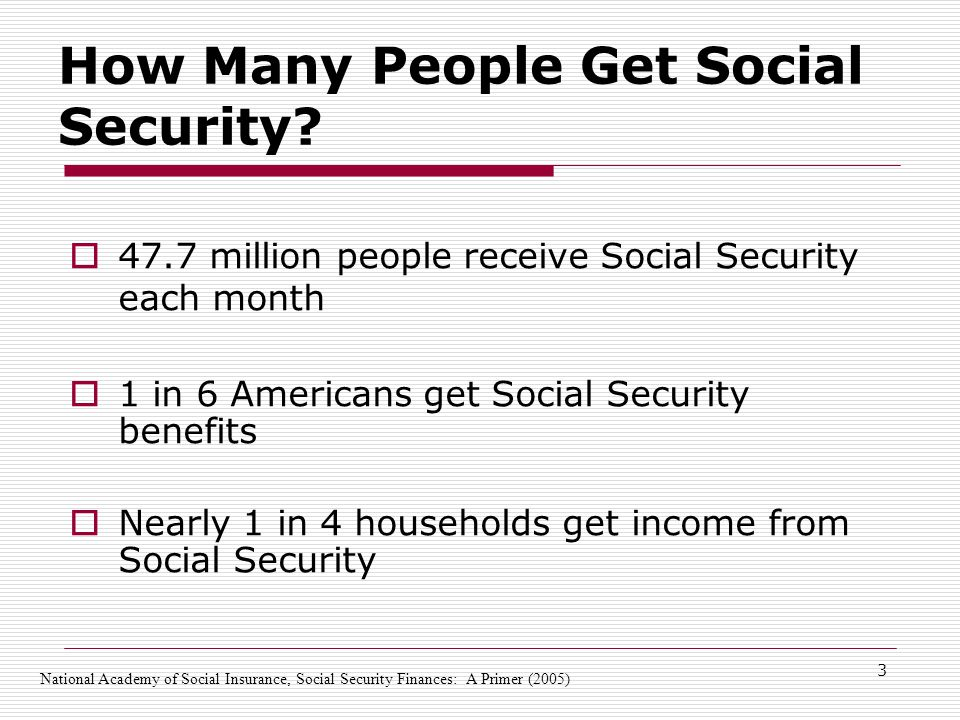 3 How Many People Get Social Security.