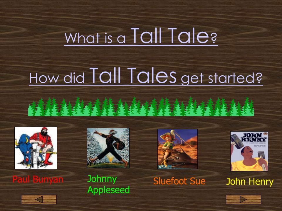 What is a Tall Tale .How did Tall Tales get started.