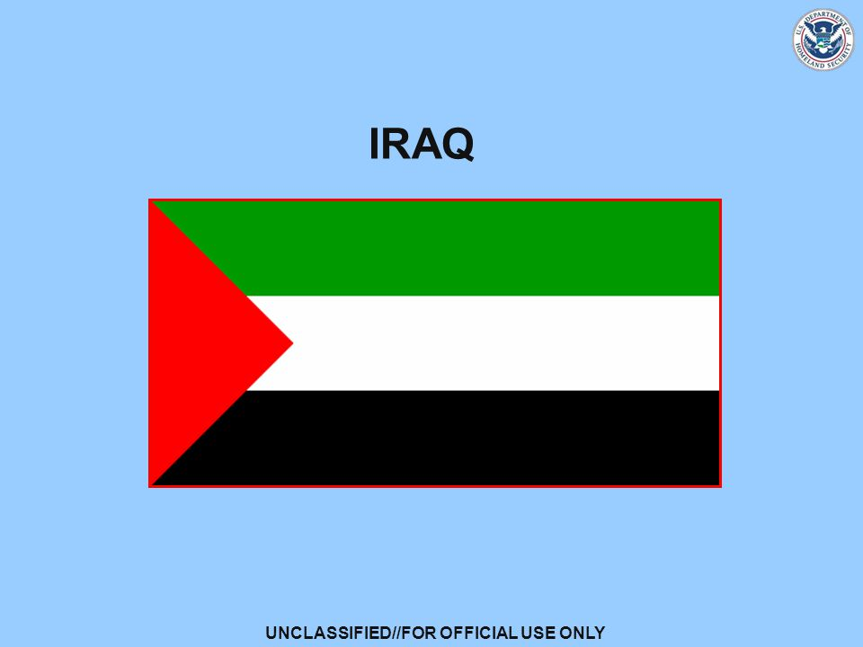 UNCLASSIFIED//FOR OFFICIAL USE ONLY IRAQ