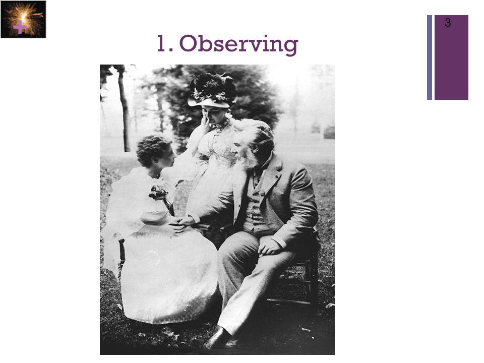 + 1. Observing 3