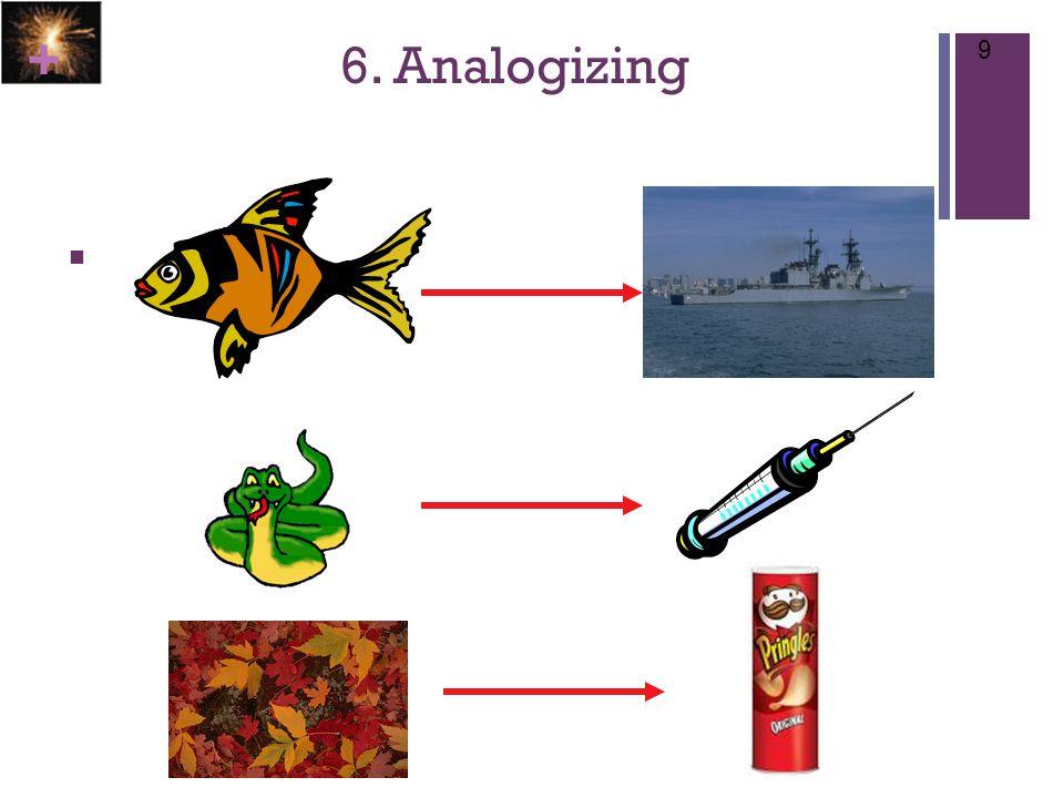 + 6. Analogizing 9